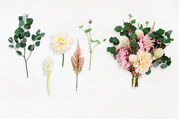 How to create your own elegant flower arrangements from Lauren Conrad's new book, Celebrate