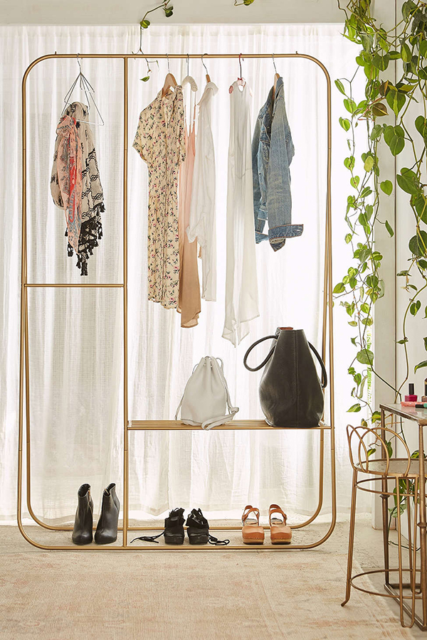 Favorite Find (this gorgeous clothing rack from Urban Outfitters. I love using it to style my outfits ahead of time)