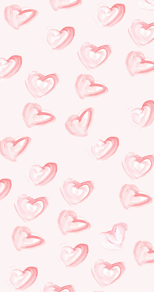 Heart pattern iPhone wallpaper