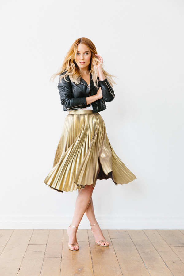 How to mix your metallics by Lauren Conrad