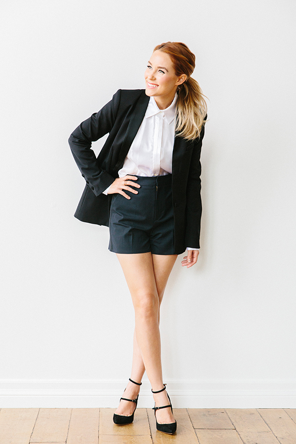 This Season's Staples: The Tuxedo Blazer