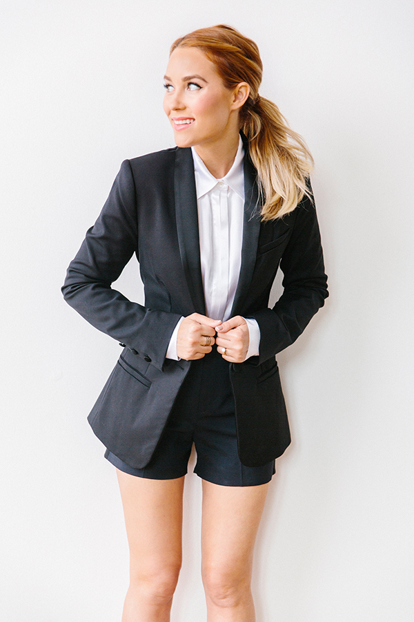 "This season's ""it"" blazer via Lauren Conrad"