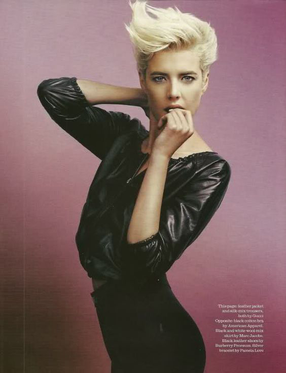 Agyness Deyn's iconic 'do