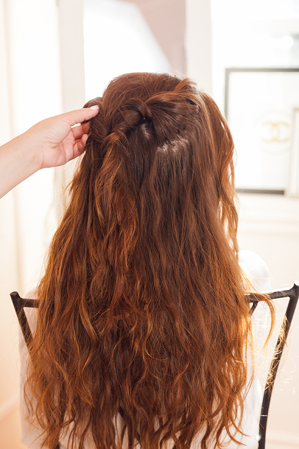 An easy step-by-step hair tutorial