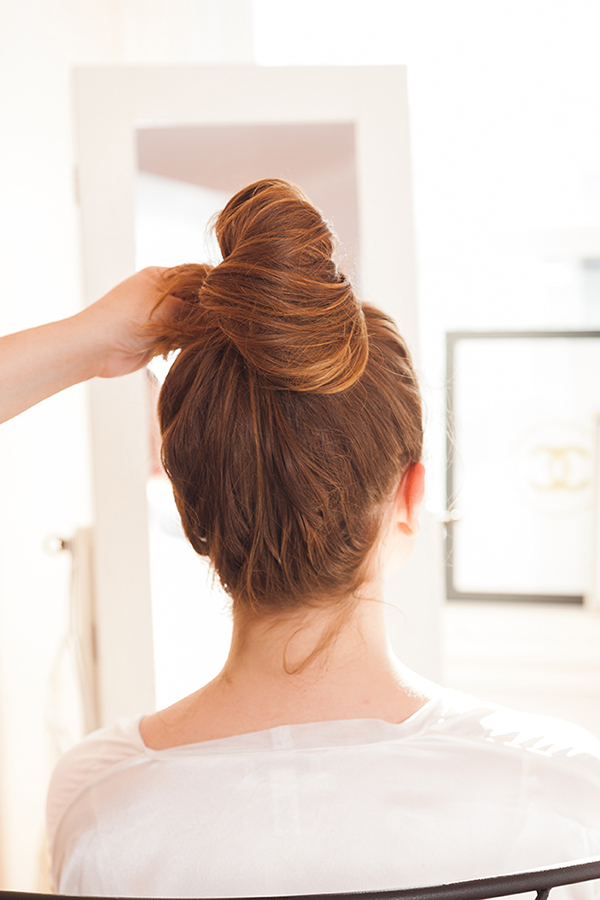 A light as a feather bun tutorial