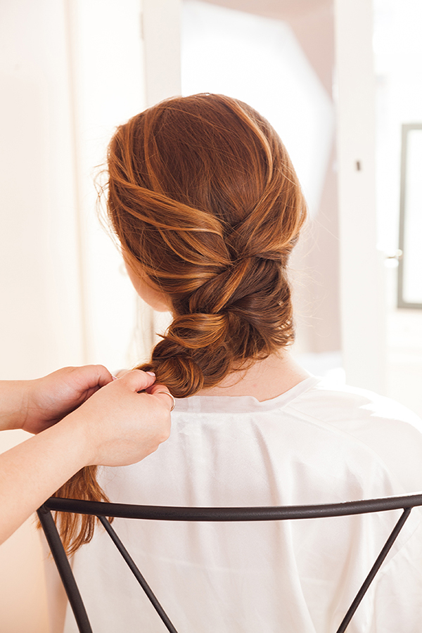 The perfect French braid