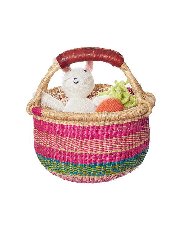 Favorite Gift (this Easter gift basket from The Little Market helps sustain female artisans around the world)