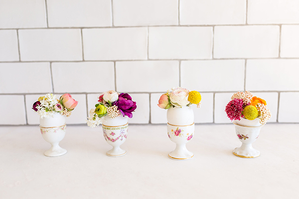 Easter Egg Bud Vases by LaurenConrad.com