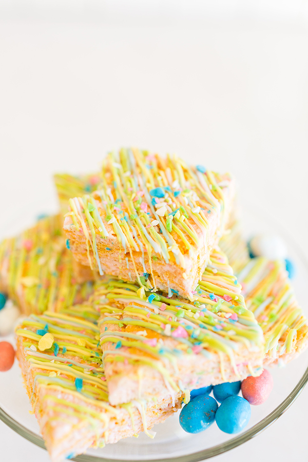 Candy-Coated Rice Krispies Treats