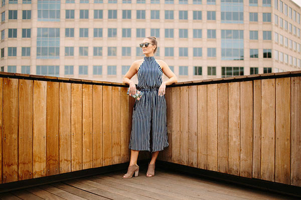 We need this striped jumpsuit