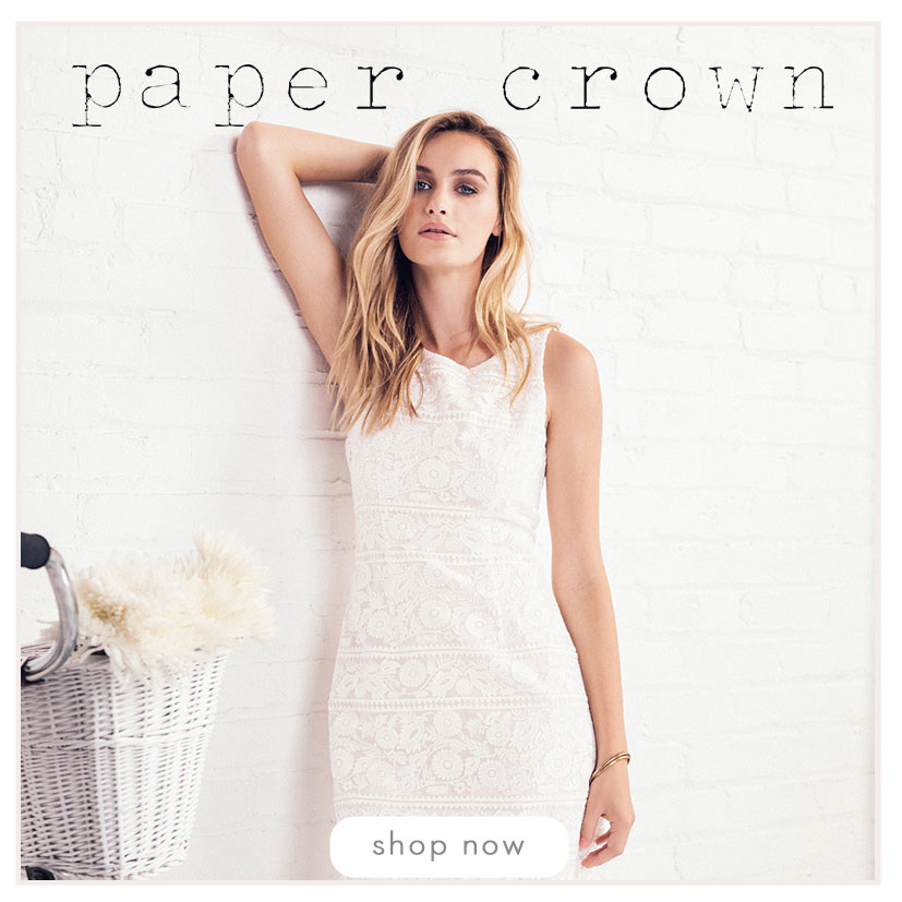 Paper Crown - Shop Now