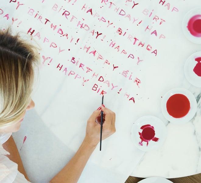Celebrate Sneak Peek: DIY Wrapping Paper
