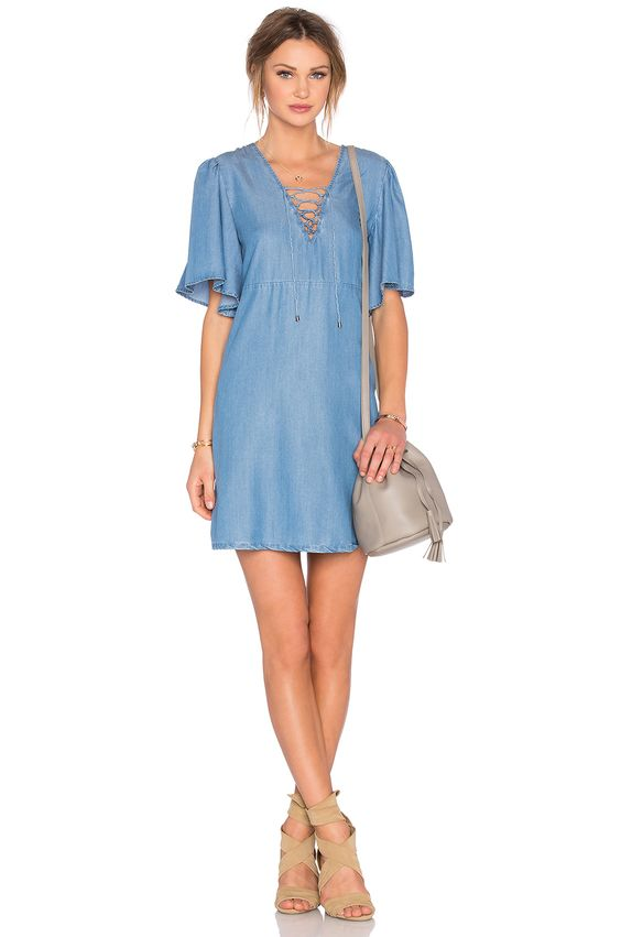 Lovers + Friends Washed Ashore Dress