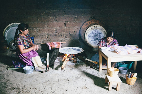 Women artisans in Mexico