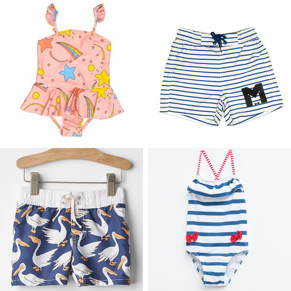 Adorable Baby Swimsuits - Spring Shopping Guide for Our Little Ones on LaurenConrad.com!