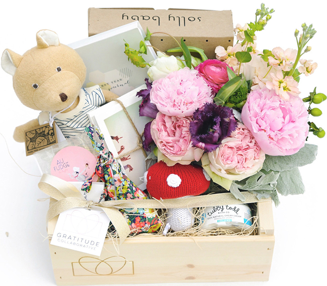 Gratitude Collaborative Solly Baby Mother's Day Box