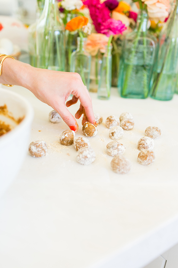These cookie bites are healthy and don't require an oven