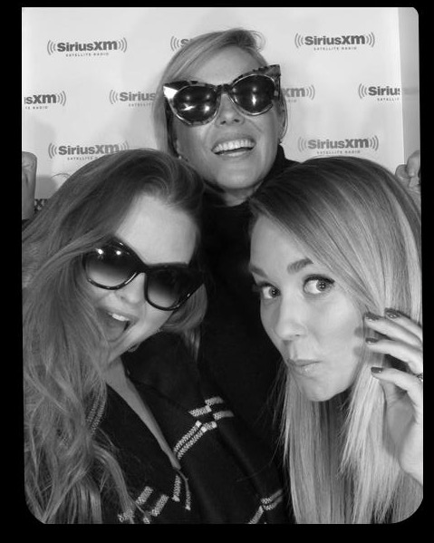 Things got a little silly at Sirius XM when my hairstylist Kristin Ess, makeup artist Amy Nadine, and I took over the photo booth