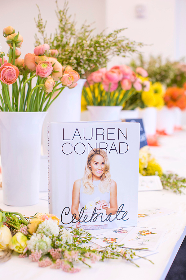 Lauren Conrad's live Celebrate book chat is today!