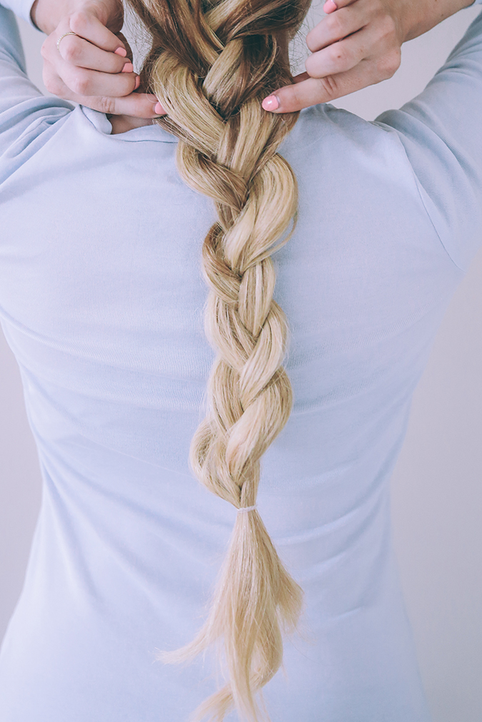 Check out Amber Fillerup's double braid tutorial featured on LaurenConrad.com