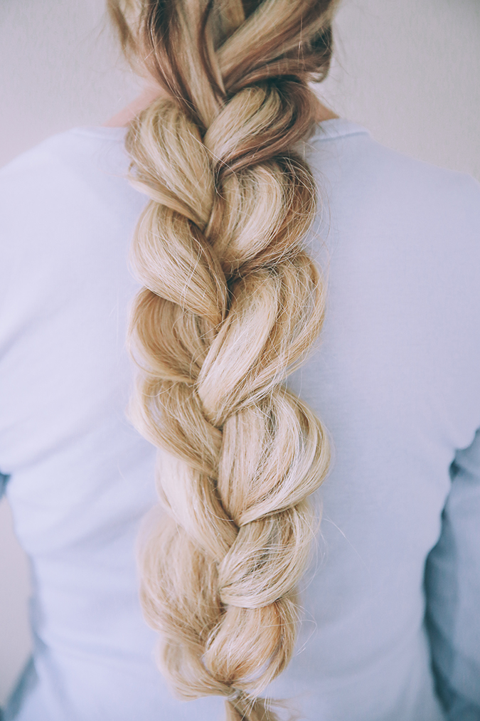 Hair How To Textured Double Braid Lauren Conrad
