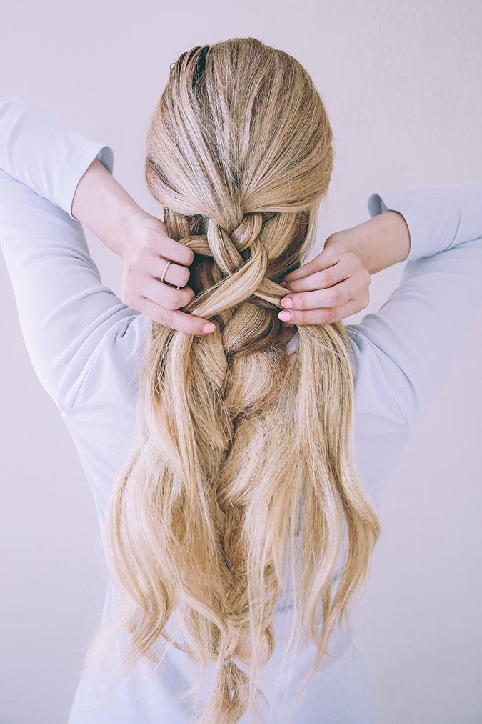 Image result for Textured double braid