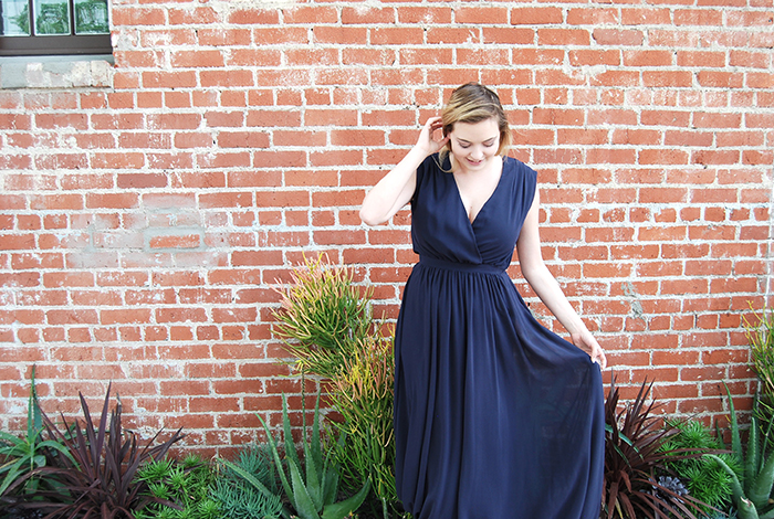 The perfect bridesmaid dress for the curvy bridesmaid