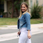 Chic of the Week: Amanda's Raw Hem Denim