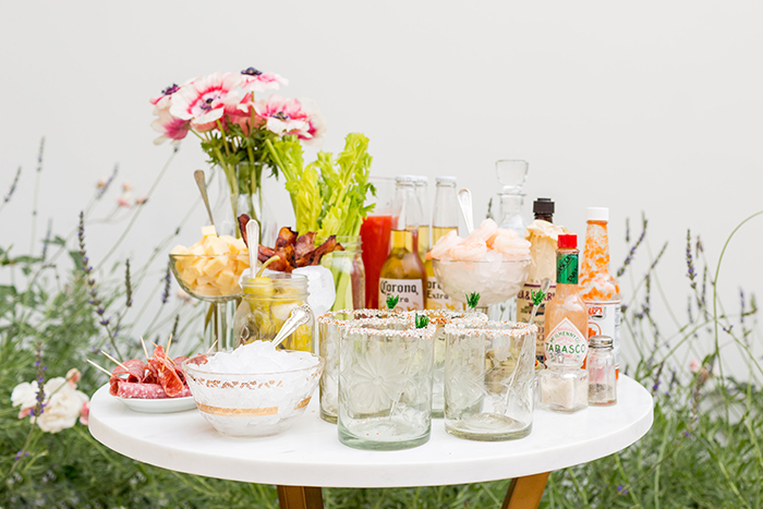 Build your own Bloody Mary bar for any summer get together