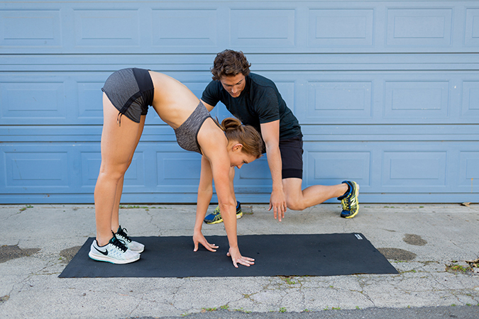 8 Total Body Exercises To Get You Ready For Anything In Life: Inch Worms