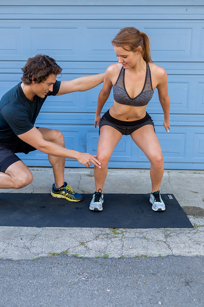 8 Total Body Exercises To Get You Ready For Anything In Life: Squat Jumps
