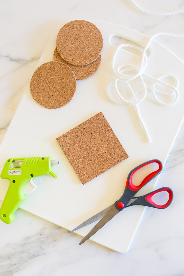 How to make cute nautical coasters