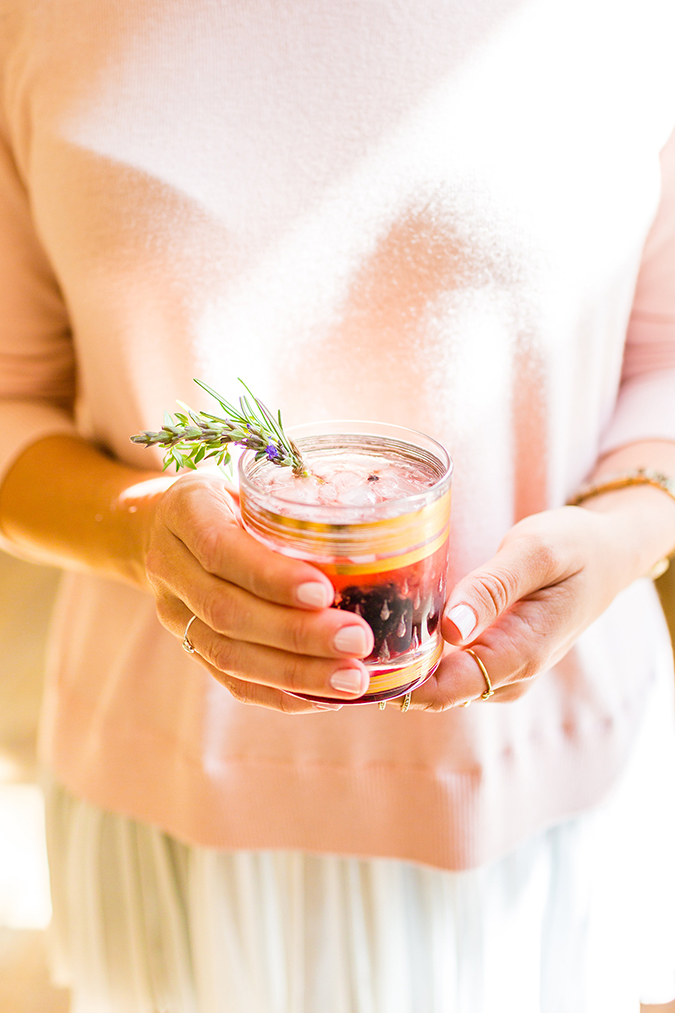 Get this summery cocktail recipe on LaurenConrad.com