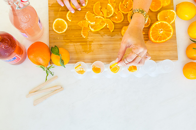 Citrus Stained Glass Popsicles perfect for any summer get together