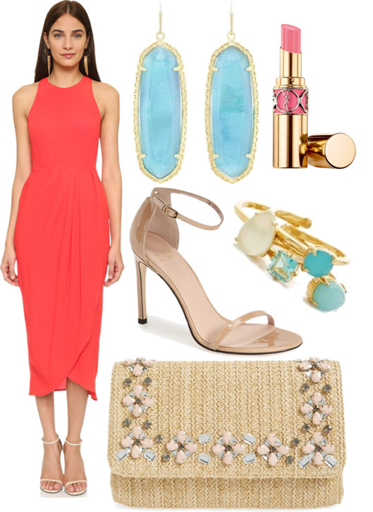 Semi-formal wedding guest style guide via Anna James of Fash Boulevard