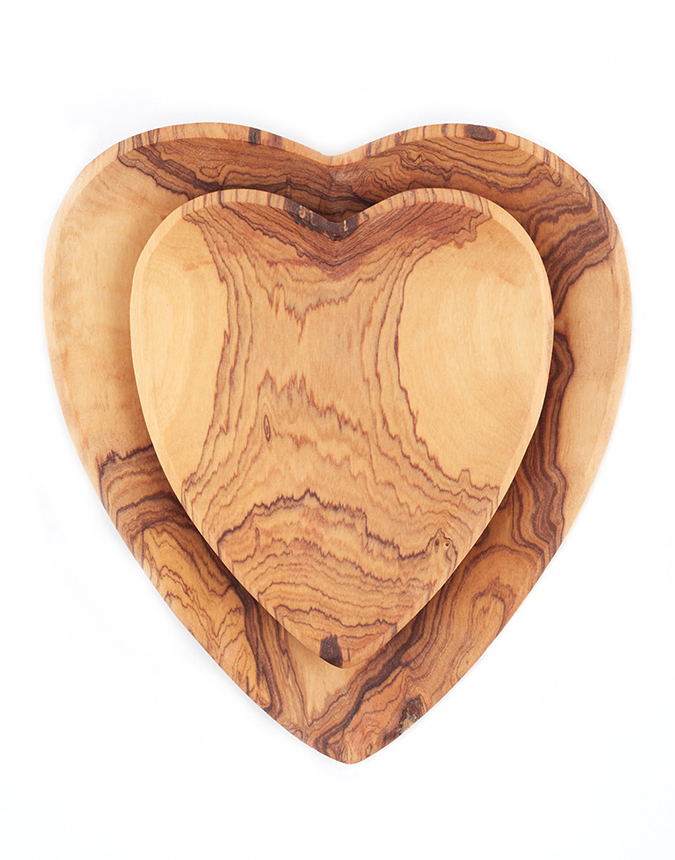 The Little Market Heart Plate