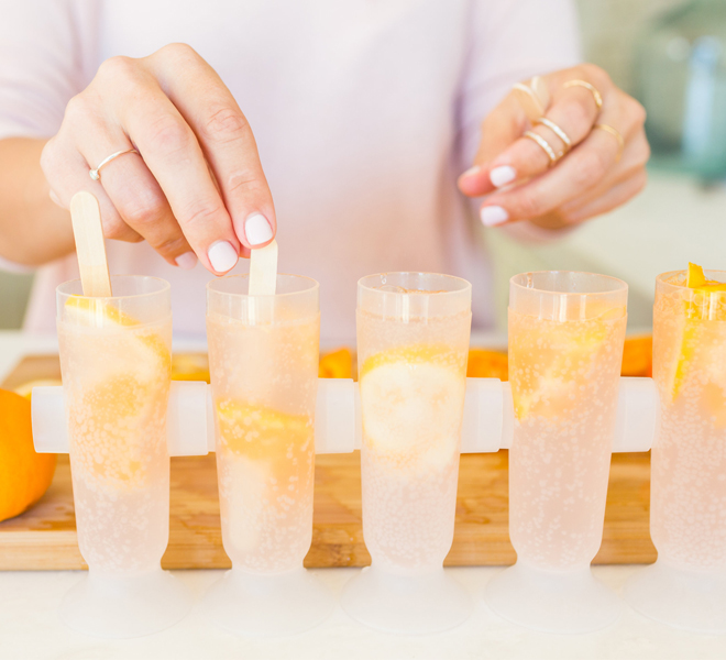 Edible Obsession: Citrus Stained Glass Popsicles