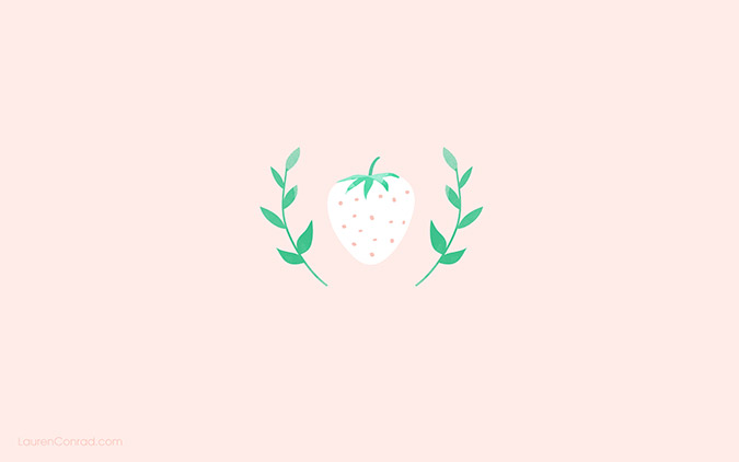 get these summery tech wallpapers by Yellow Heart Art on LaurenConrad.com