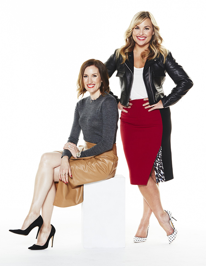 The duo behind Who What Wear, Hillary Kerr and Katherine Power