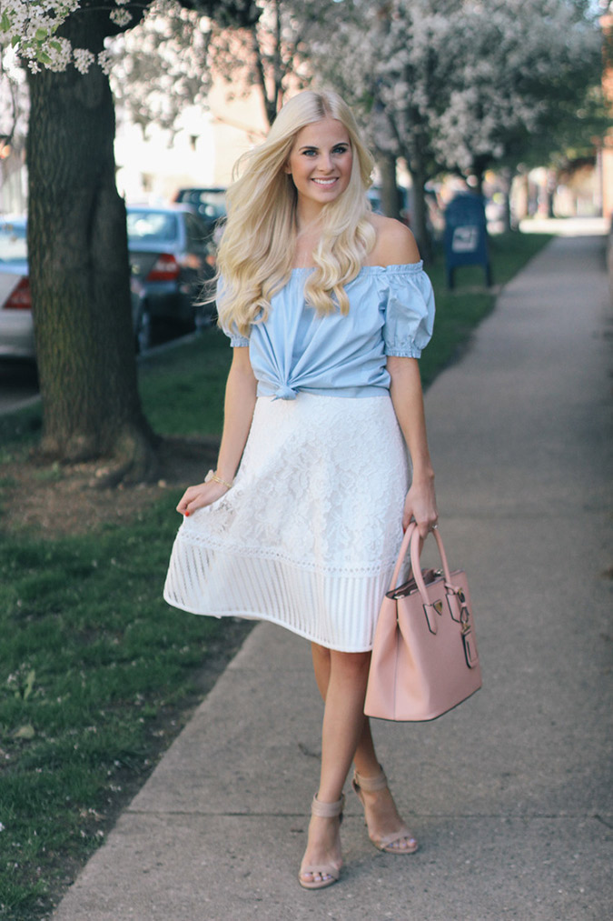 Get the look: Kathleen's perfect summer midi skirt