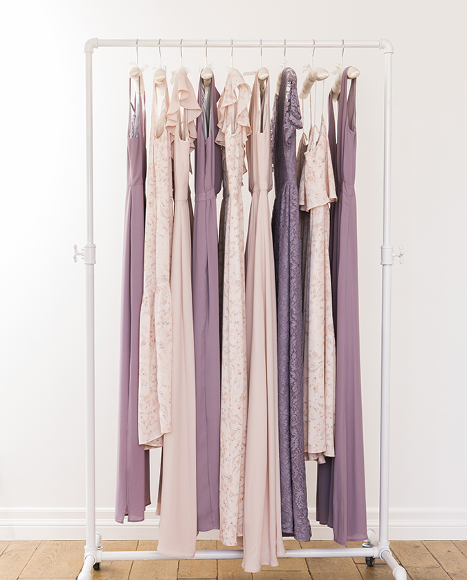 See how real girls wear their Paper Grown bridesmaid dresses on LaurenConrad.com