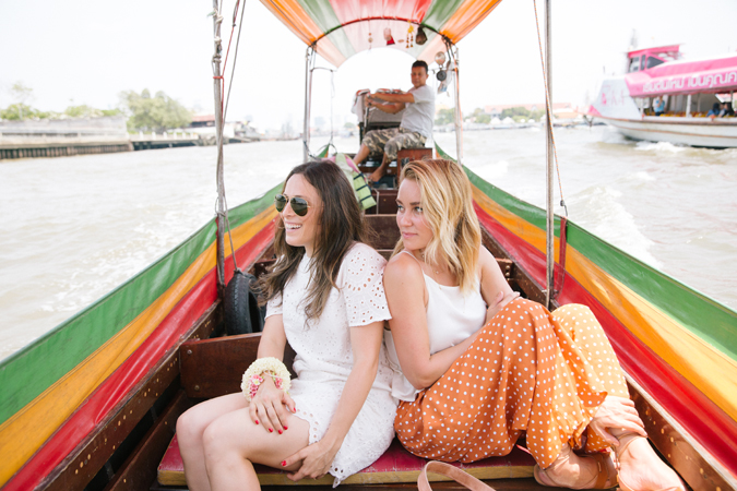 Lauren Conrad's trip to Thailand for The Little Market