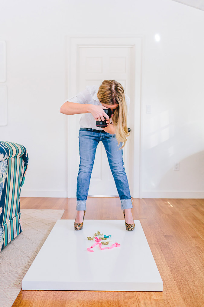 Abby of Style Me Pretty on the blog