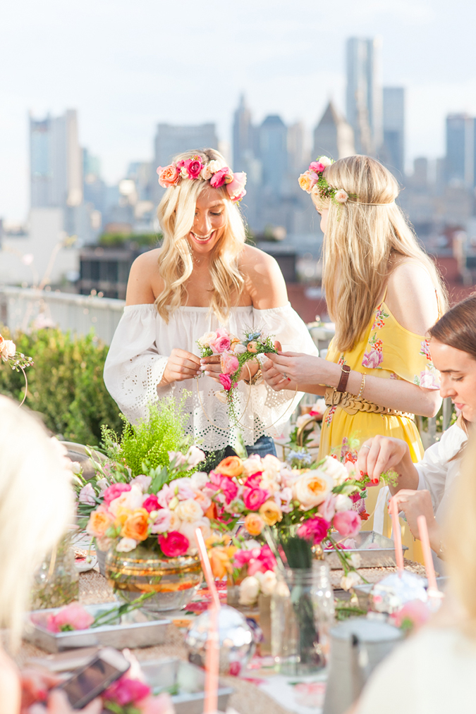 See this flower crown party and the rest of Lauren's Friday Favorites
