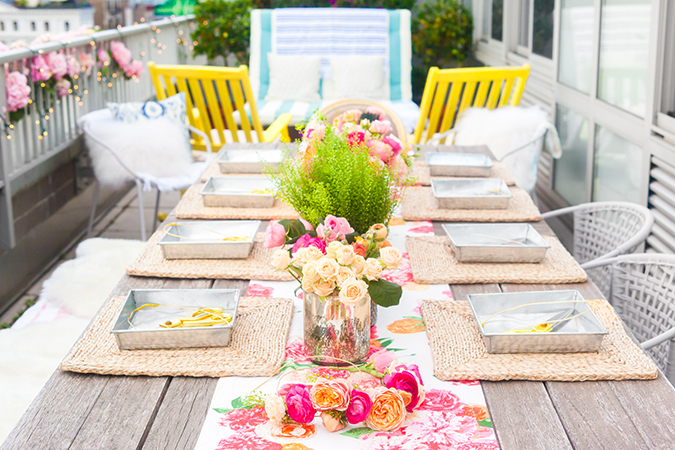 See this flower crown garden party and the rest of Lauren's favorites from this week