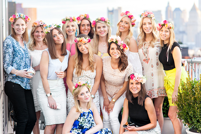 See this cute flower crown party and the rest of Lauren's Faves on LaurenConrad.com