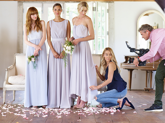 Get a sneak peek at the workings of a Paper Crown photoshoot with Lauren Conrad