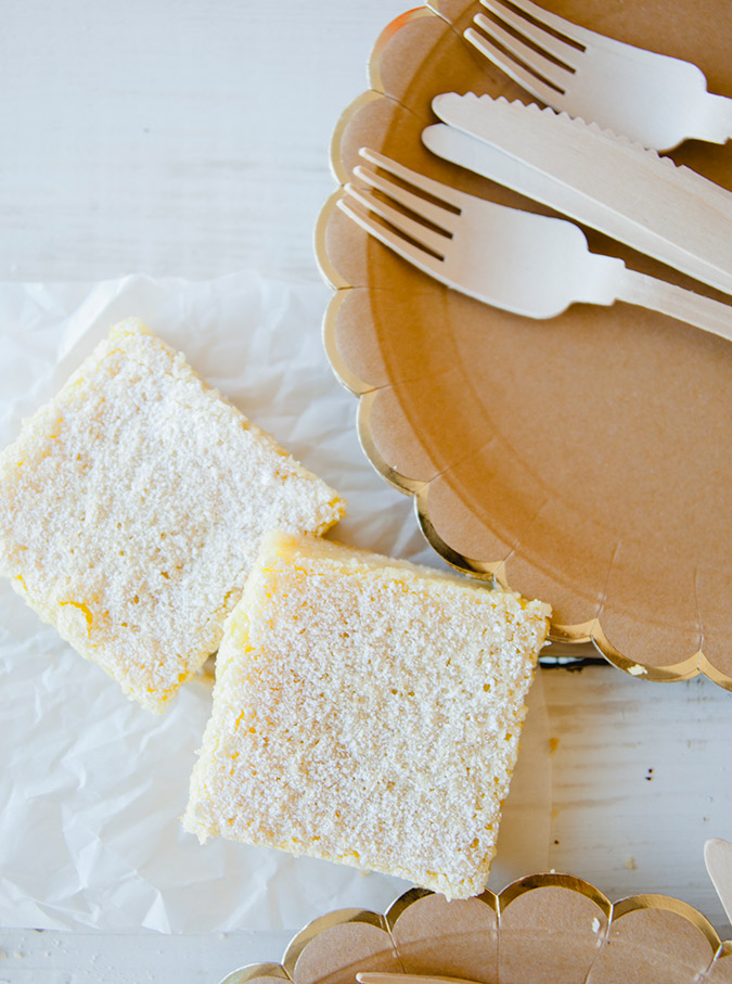 Picnic menu: Mom's lemon bars