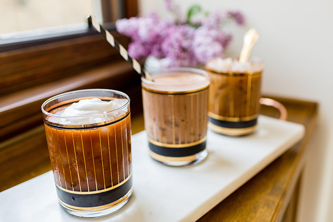 Iced Coffee, 3 Ways
