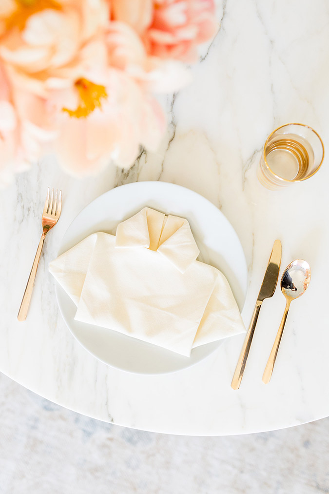 Learn how to create these darling folded napkins for Father's Day